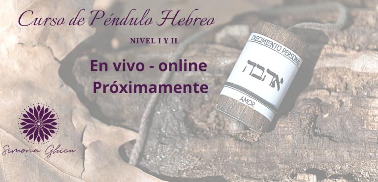 Curso de Pendulo Hebreo _